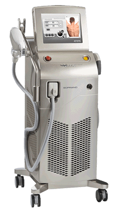 soprano ice depilazione laser permanente