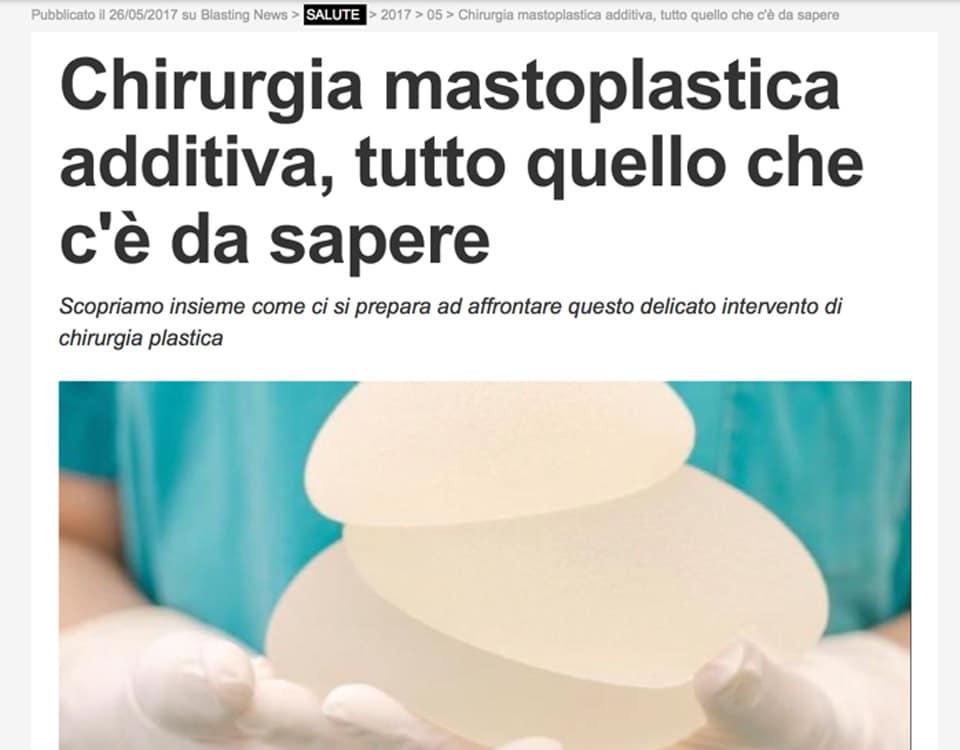 chirurgia mastoplastica additiva, tutto quello che c'è da sapere